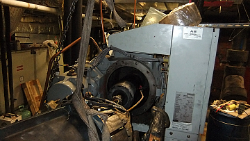 Сборка компрессора чиллера Carrier 30HXC после ремонта